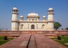 Усыпальница ` s Itmad-Ud-Daulah - Агра, Индия Стоковое Фото