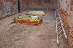 Усыпальница Sarkhej Roja стоковые изображения rf