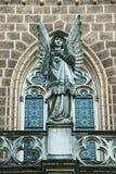 Усыпальница Schwarzenberg - деталь, статуя ангела Стоковое Изображение