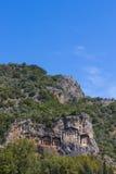 Усыпальницы королей Lycian Стоковые Фото