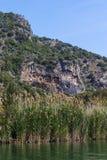 Усыпальницы королей Lycian Стоковое фото RF