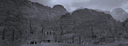 Усыпальницы королей, Petra, Джордана Стоковое Изображение
