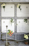 Усыпальницы с цветками Стоковое Изображение RF