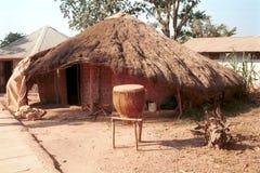 Усыпальницы Buganda королевские, Кампала, Уганда стоковое фото