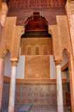 Усыпальницы Saadian в Marrakech Стоковая Фотография RF