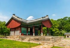 Усыпальницы Seonjeongneung королевские Стоковые Фото