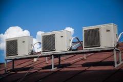 Условие воздуха компрессора Стоковое Изображение