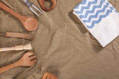утвари деревянные Стоковое Изображение RF