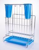 Утвари держатель кухни или держатель столового прибора на предпосылке Стоковое Изображение