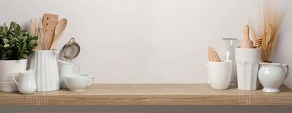 Утвари и посуда кухни стоковая фотография