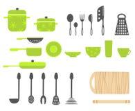 утвари кухни иллюстрация штока