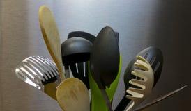 утвари поддержки кухни формы утки славные стоковое изображение rf