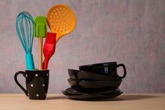 утвари поддержки кухни формы утки славные стоковые изображения rf