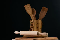 утвари поддержки кухни формы утки славные Стоковое фото RF