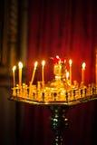 Утвари церков в православной церков церков Стоковое Изображение RF