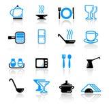утварь кухни икон Стоковое Изображение RF
