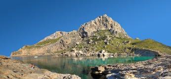 Утесистая гора Стоковое фото RF