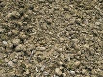 Утесистая плохая предпосылка почвы сада Стоковые Фотографии RF