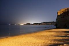 утесистое пляжа красивейшее Стоковые Фотографии RF