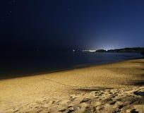 утесистое пляжа красивейшее Стоковое Изображение
