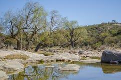 Утесистое река Стоковое фото RF