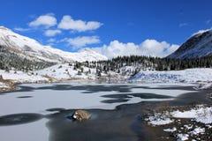 Утесистые горы - Канада Стоковые Фото