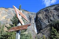 Утесистые горы - Канада Стоковые Фотографии RF