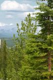 Утесистые горы Стоковые Фотографии RF