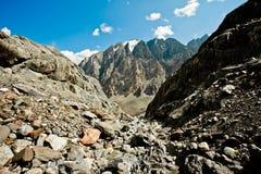 Утесистые горы Стоковое Изображение RF