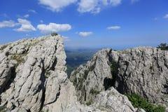 Утесистые горы Стоковая Фотография