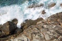 утесистый берег Стоковые Изображения RF