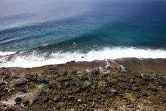 утесистый берег Стоковое Фото