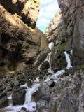 утесистый водопад стоковая фотография rf