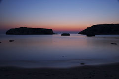 утесистый восход солнца моря ii Стоковые Фото
