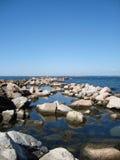 утесистый seascape Стоковое Фото