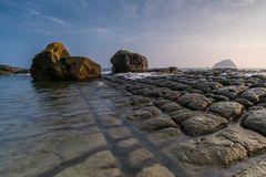 утесистый seashore Стоковые Изображения RF
