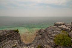 утесистый seashore Стоковое Изображение
