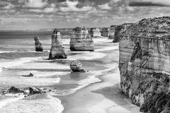 12 утесов апостолов на большой дороге океана, Австралии Стоковое Фото