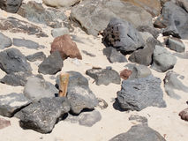 Утесы лавы Стоковые Фото