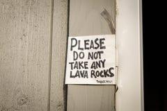 Утесы лавы Стоковое Изображение RF