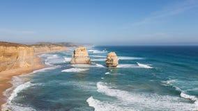 Утесы 12 апостолов, Австралия Стоковое Изображение RF
