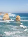 Утесы 12 апостолов - ориентир ориентир Австралии Стоковые Фотографии RF