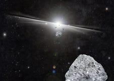 Утесы взрыва космоса Стоковые Фото