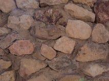 Утесы в стене Стоковое Изображение RF