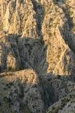 Утесы горы Стоковые Фото