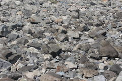 утесы и валуны около берега моря в Chernomorets Стоковые Изображения