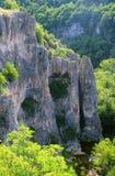 Утесы и вегетация каньона Emen стоковое изображение rf