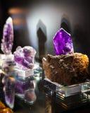 Утесы и минералы Стоковые Фотографии RF