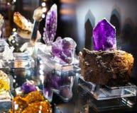 Утесы и минералы Стоковая Фотография RF