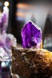 Утесы и минералы Стоковое Фото